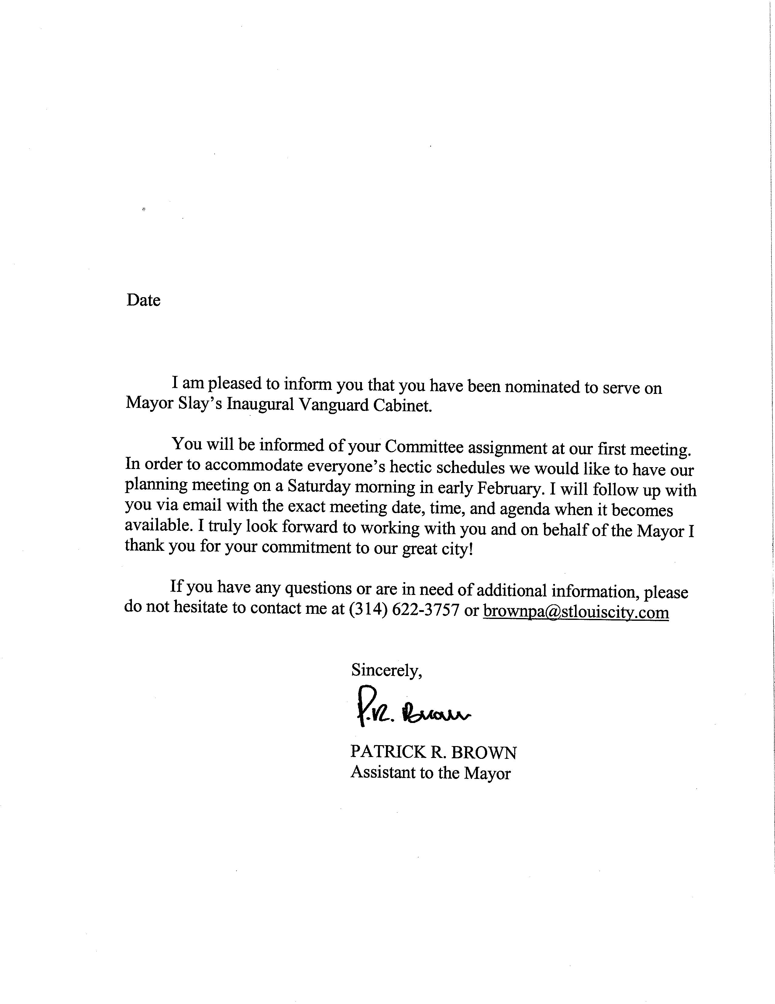 Sample Of Resignation Acceptance Letter. Resignation Letter ...
